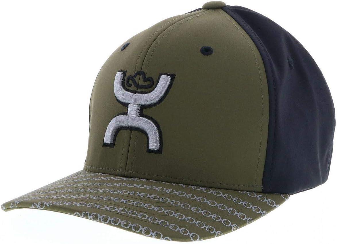 HOOEY Solo III Olive//Black Flexfit Hat