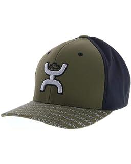 huge selection of ab421 5e1b6 HOOey Solo III Olive Black Flexfit Hat