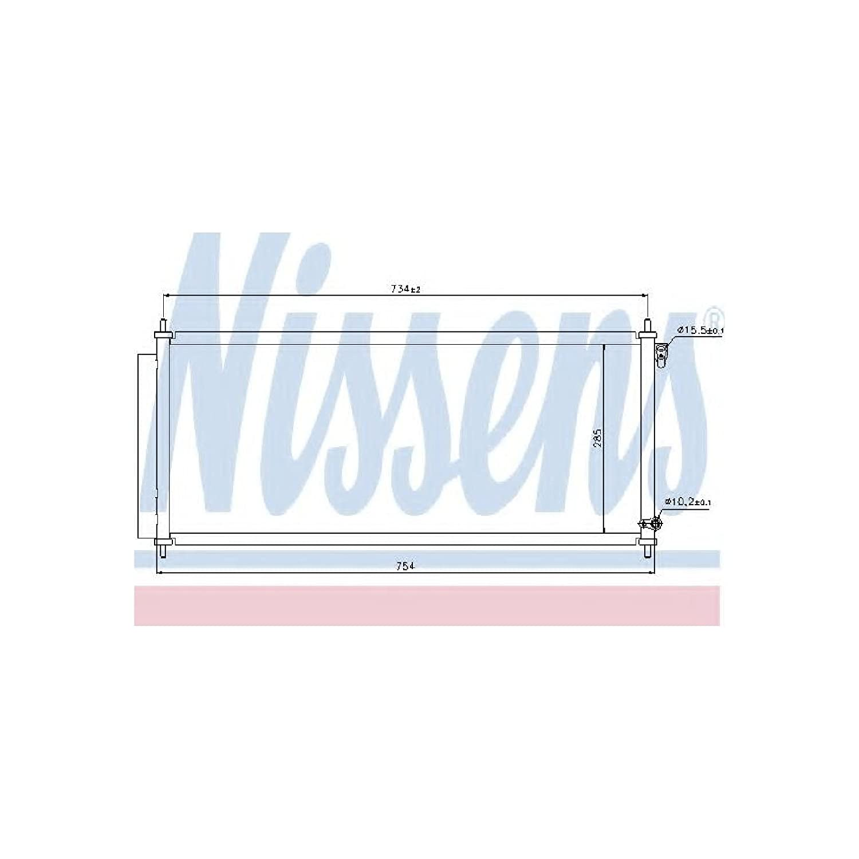 Nissens 940051 Condenser, air conditioning AutoMotion Factors Limited