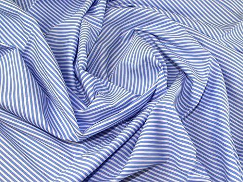 Printed Poplin 4 colours available 100/% cotton multi stripes