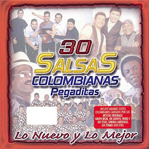 30 Salsas Colombianas Pegadita.