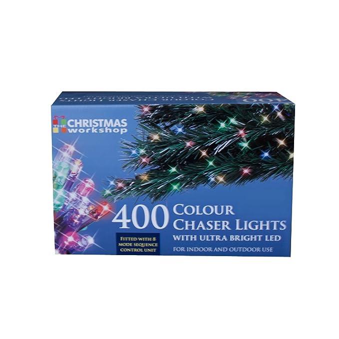 75170 Christmas Workshop Benross 400 LED Chaser String Lights Multi ...
