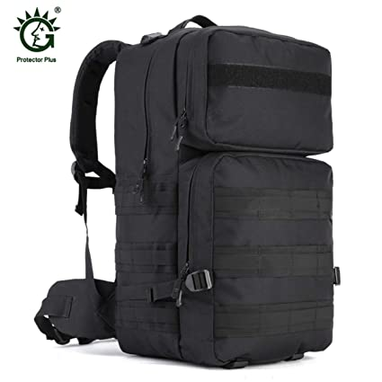 2fb4d5296db7 Amazon.com : Huldaqueen 55L Large Size Military Tactical Backpack ...