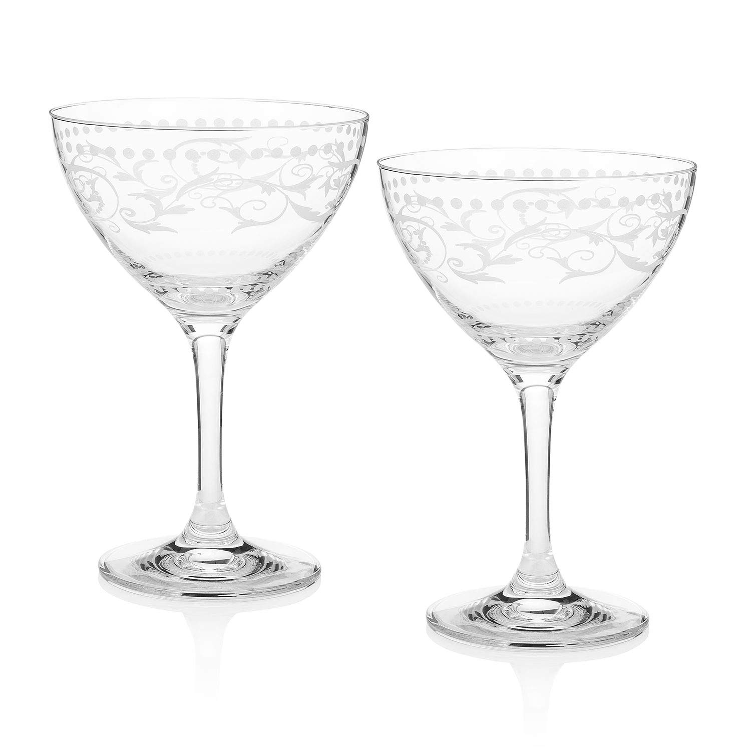 Cole Porter''Ritz Bar'' Champagne Cocktail Glasses (Limited Edition)