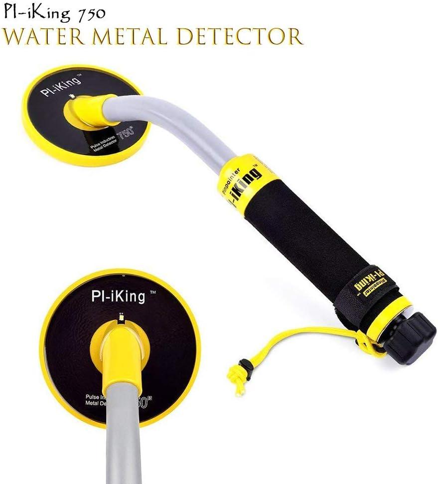HUKOER PI-iking 750 Detector de Metales 30m Impermeable Detector ...