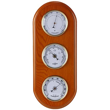 Delightful Lilyu0027s Home Three In One Weather Station | Thermometer, Barometer U0026  Hygrometer Combo