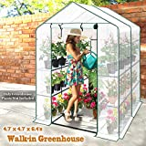 BenefitUSA Outdoor Mini Walk-in Greenhouse for