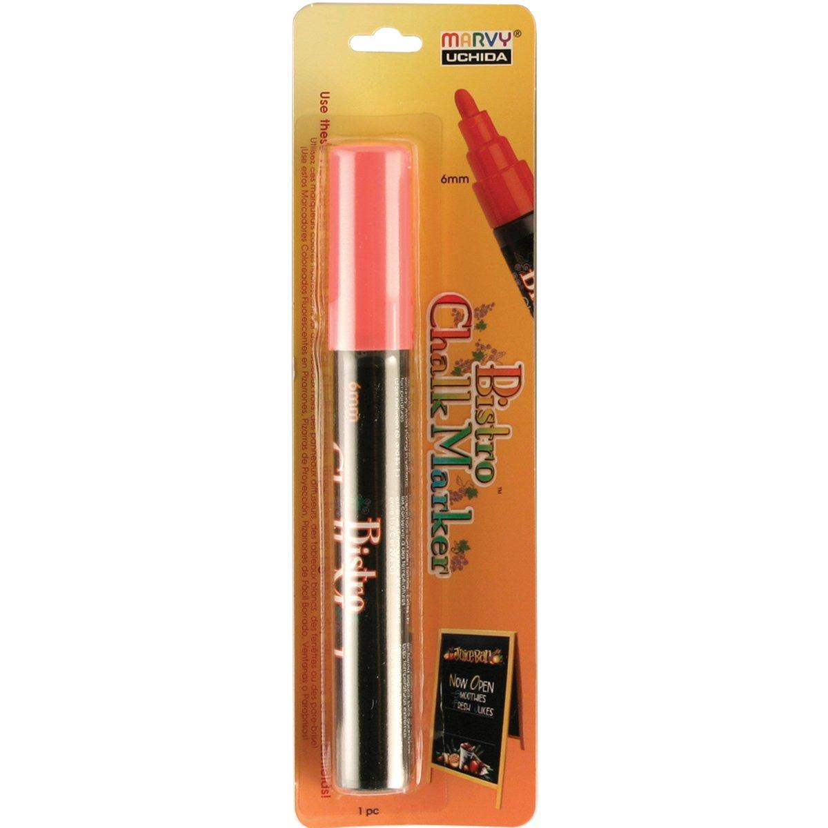 Uchida 480-C-0 Marvy Broad Point Tip Regular Bistro Chalk Marker, White Uchida of America Corp