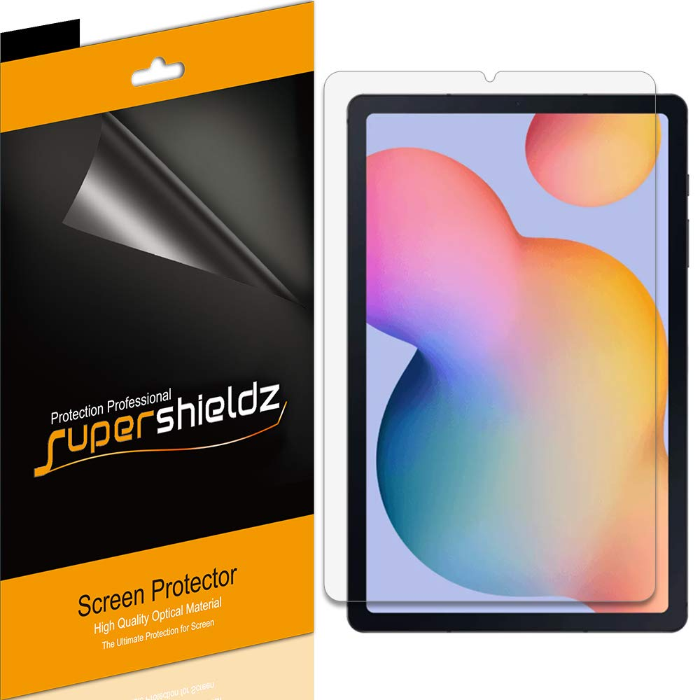 (3 Pack) Supershieldz Designed for Samsung Galaxy (Tab S6 Lite) 10.4 inch Screen Protector, High Definition Clear Shield (PET)