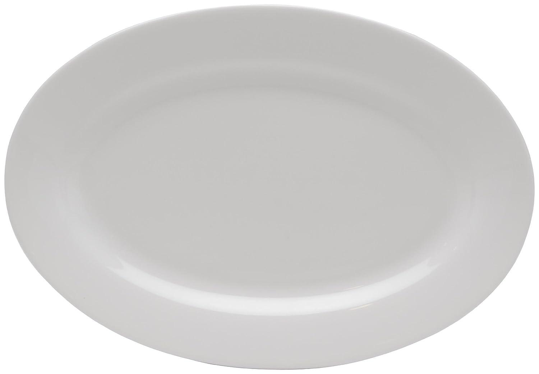 Red Vanilla Pure Vanilla 10-inch Oval Serving Platter