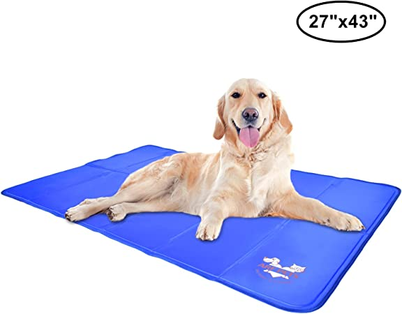Arf Pets Pet Dog Self Cooling Mat Pad For Kennels Crates And Beds 27x43