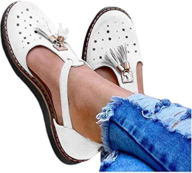 Flat Sandals Ankle Strap Beach Shoes