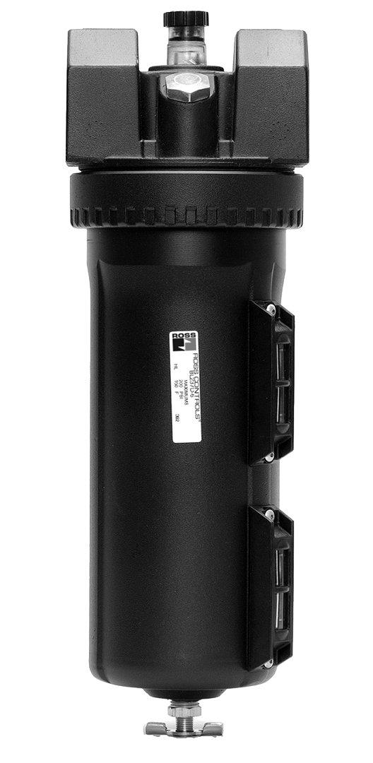 Sight Feed 1-1//4 NPT Ross Controls 5112B7019 High-Capacity Series Lubricator Metal Bowl 35 1035