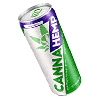 Canna Hemp Infused Energy Drinks - Nootropics Drink Relaxation Beverage for Focused...
