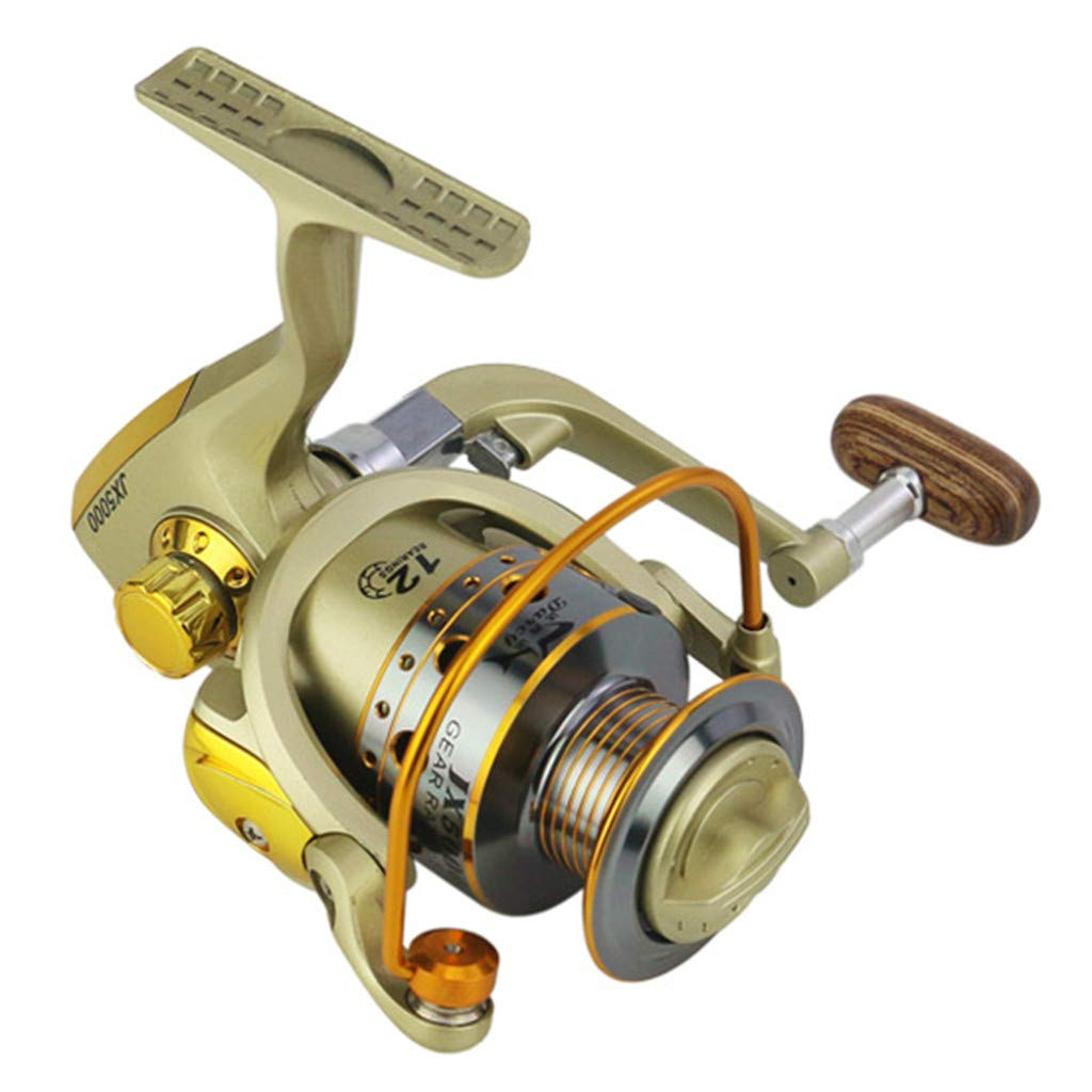 SMyFone Wheels Fish Spinning Reel 5.5:1Carretilhas Pescaria Molinete for JX1000-7000series