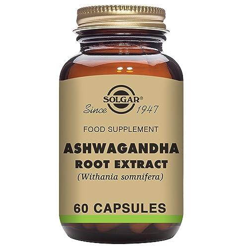 Solgar Ashwagandha Root Extract Vegetable Capsules - Pack of 60