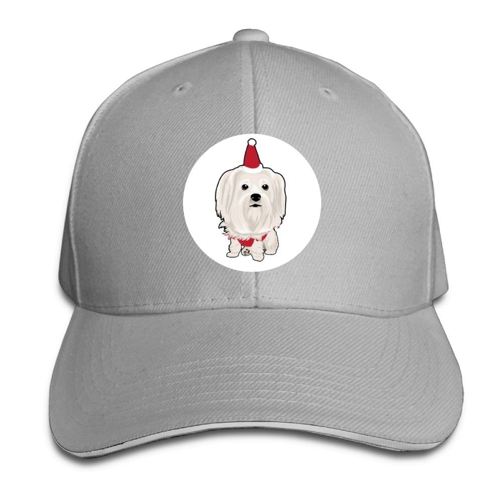 bb8bd5361c Amazon.com: Chqeilng Oii Polo Style Caps White Cute TZU Dogs Unisex  Baseball Sandwich Hat: Clothing