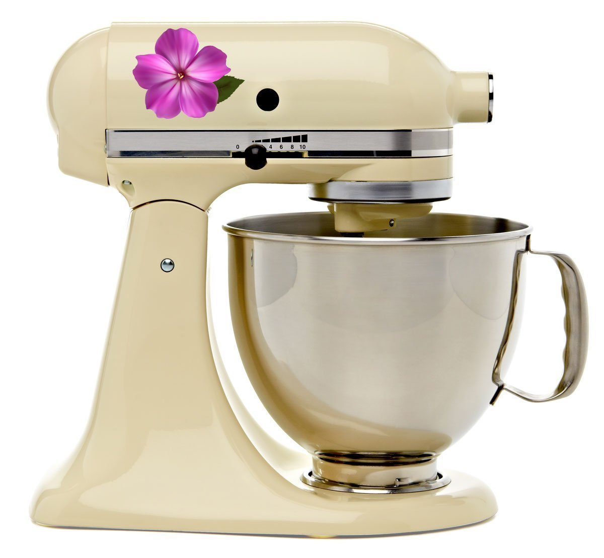Amazon.com: Impatiens Flower Bakery Kitchenaid Mixer Mixing Machine Decal  Art Wrap: Kitchen U0026 Dining