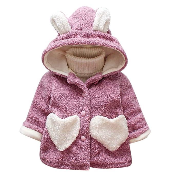 Amlaiworld Abrigos bebé Otoño Invierno,Bebé niñas niños Prendas de Vestir Ropa de