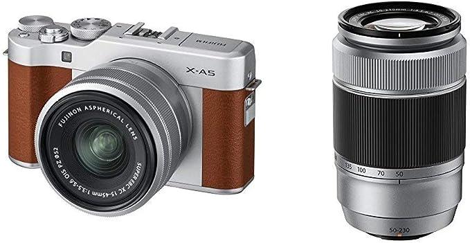 Fujifilm X A5 Marron 15 45 Silver 50 230 Silver Kamera