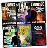 Orson Scott Card Ender Wiggin Saga 6 Books Collection Pack Set (1-Ender's Game, 2- Speaker For The Dead, 3- Xenocide, 4- Children Of The Mind, 5-A War of Gifts, 6-Ender in Exile)