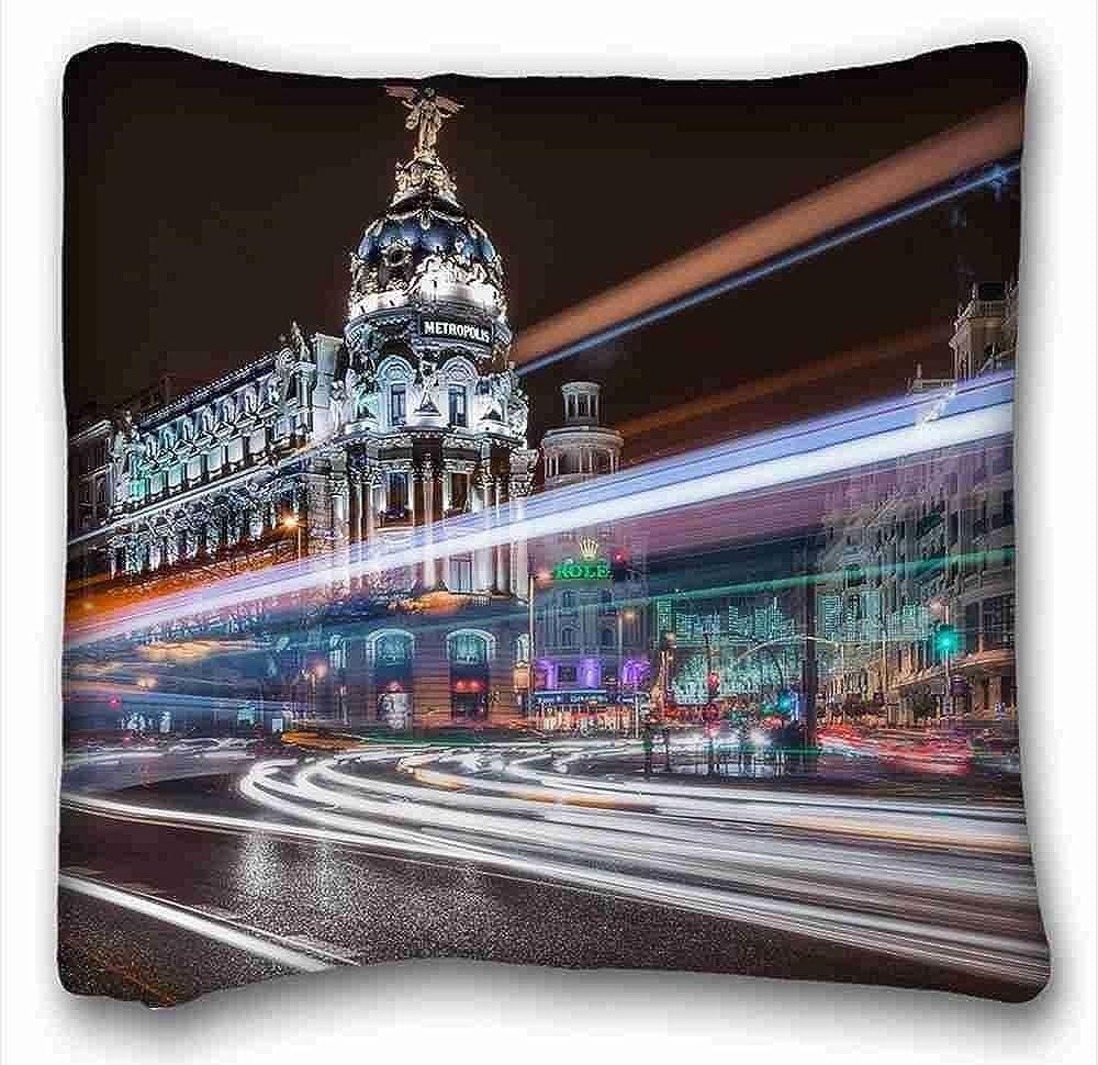 Amazon.com: Custom (City exposure building Madrid Spain ...