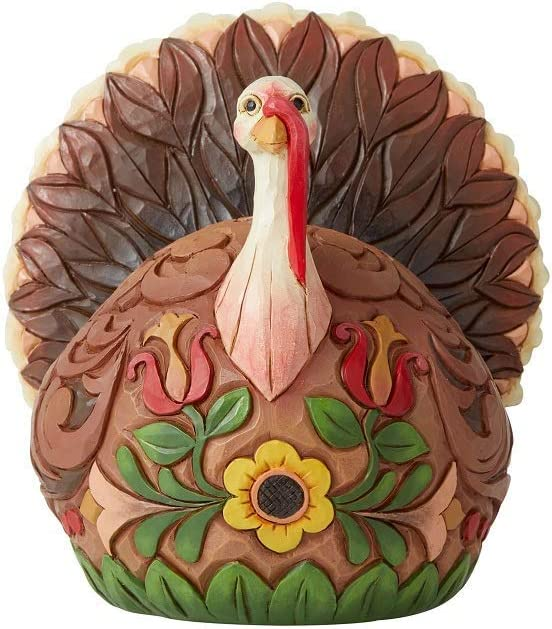 Enesco Jim Shore Heartwood Creek JS Small Turkey Figurine