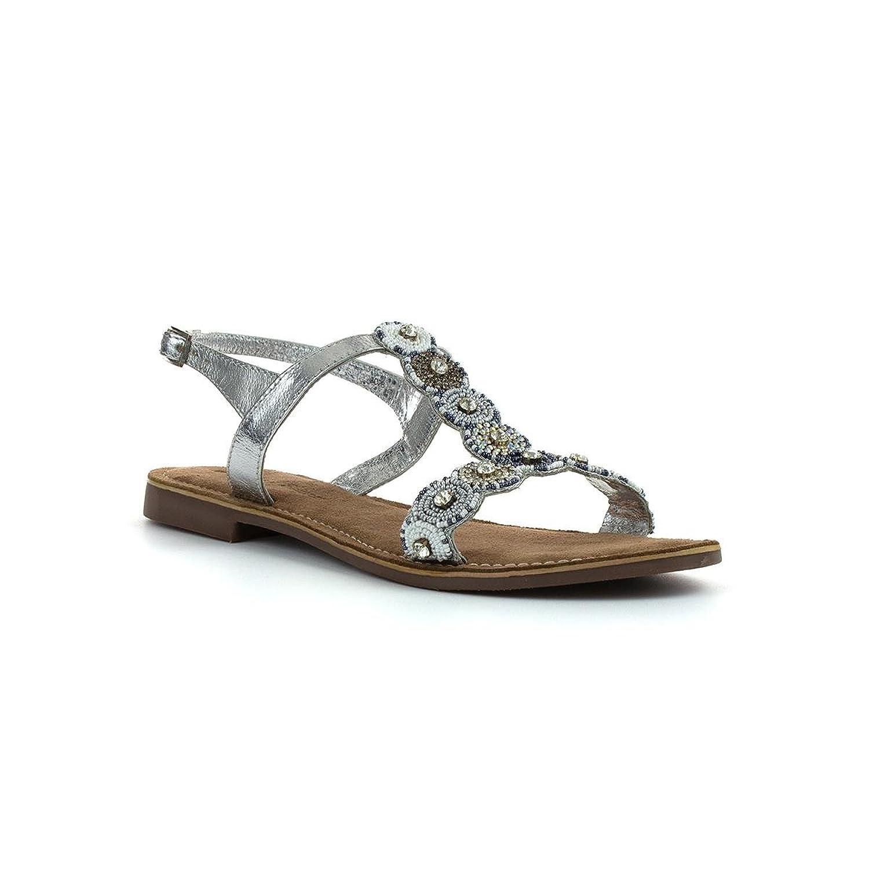 Lilley & Skinner Flaches Sandale im Weißen Leder für Frauen durch Größe 39 - Weiß nL7e81C2w