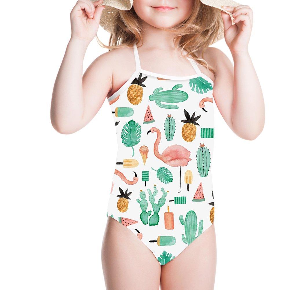 Ertyz Pineapple Girl Swimsuit for Professional Sport Baby Bikini Daughter Swimwear
