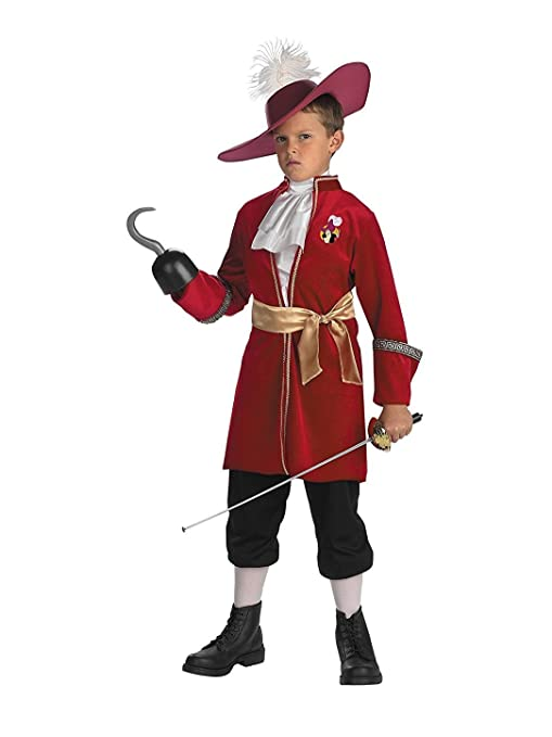 Toddler Captain Hook Costume - Toddler (3T-4T)  sc 1 st  Amazon.com & Amazon.com: Toddler Captain Hook Costume - Toddler (3T-4T): Toys u0026 Games