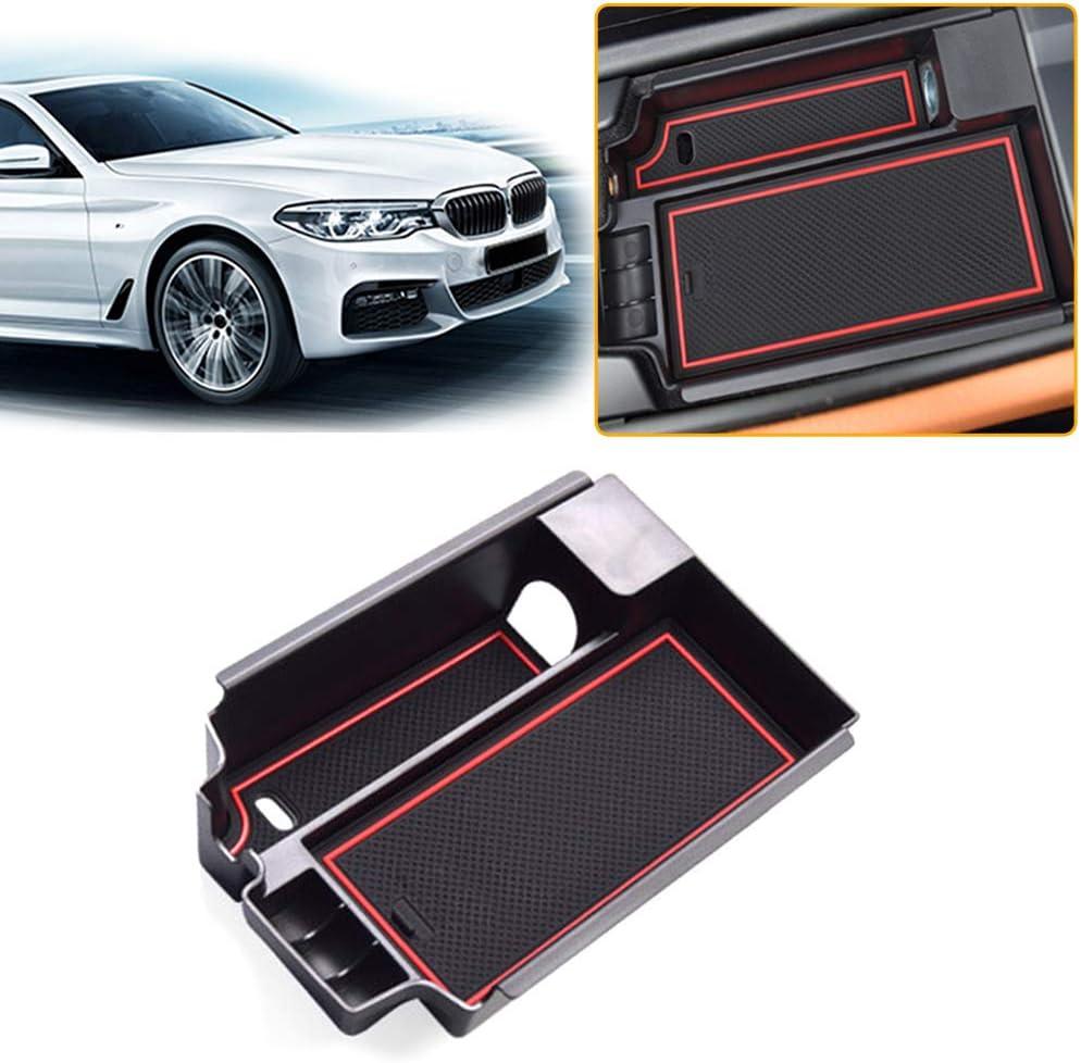 Aufbewahrungsbox F/ür B MW X1 2016-2019 Auto Konsole Armlehne Tablett Halter H/ülle Palette Rutschfeste Handschuhfach Storage Box Innen