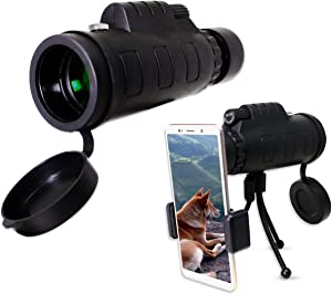 Verseo High Powered Telescope for Sports, Wildlife, Nature and Bird Watching with Anti-Fog, Clear, Waterproof, Single Hand Focus Lens