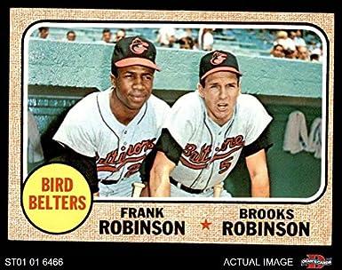 Amazoncom 1968 Topps 530 Bird Belters Frank Robinson