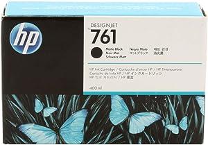 HEWLETT PACKARD HP 761 400-ML MATTE BLACK DESIGNJET INK