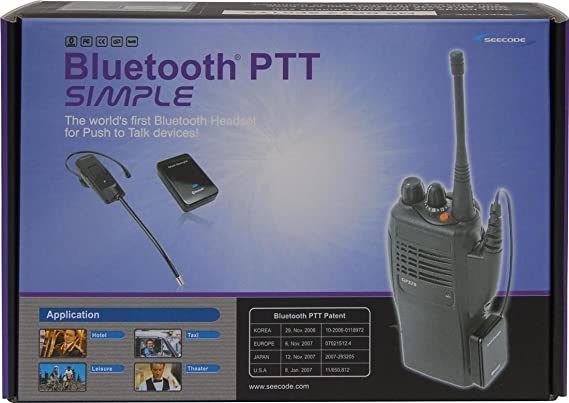 Deluxe 2 Bluetooth Headset For Sepura Tetra Elektronik