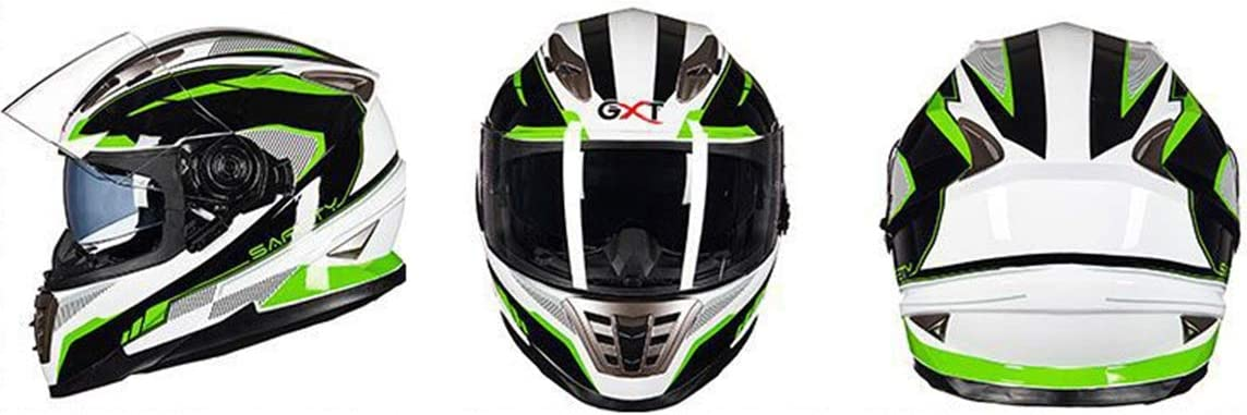 Erwachsene Lokomotive Motorrad Helm Doppel Objektiv Vollgesichtsschutz Motorradhelme ABS Antifogging Motocross Helme