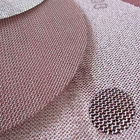 Pack of 16 2pcs of Each grit Mesh Cloth Dust Free Sanding Discs Anti-Blocking Dry Grinding Sandpaper 6 Inch 150mm 120 to 1000 Grit
