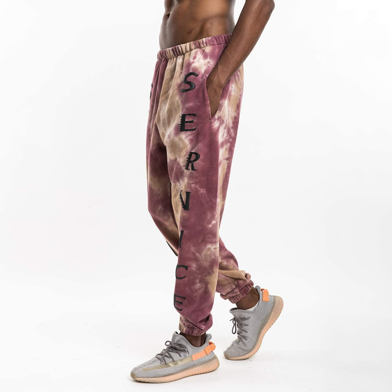 NAGRI Holy Sweatpants Kanye Jogger Sweatpants for Men Running Trousers Jogger Pant with Pockets