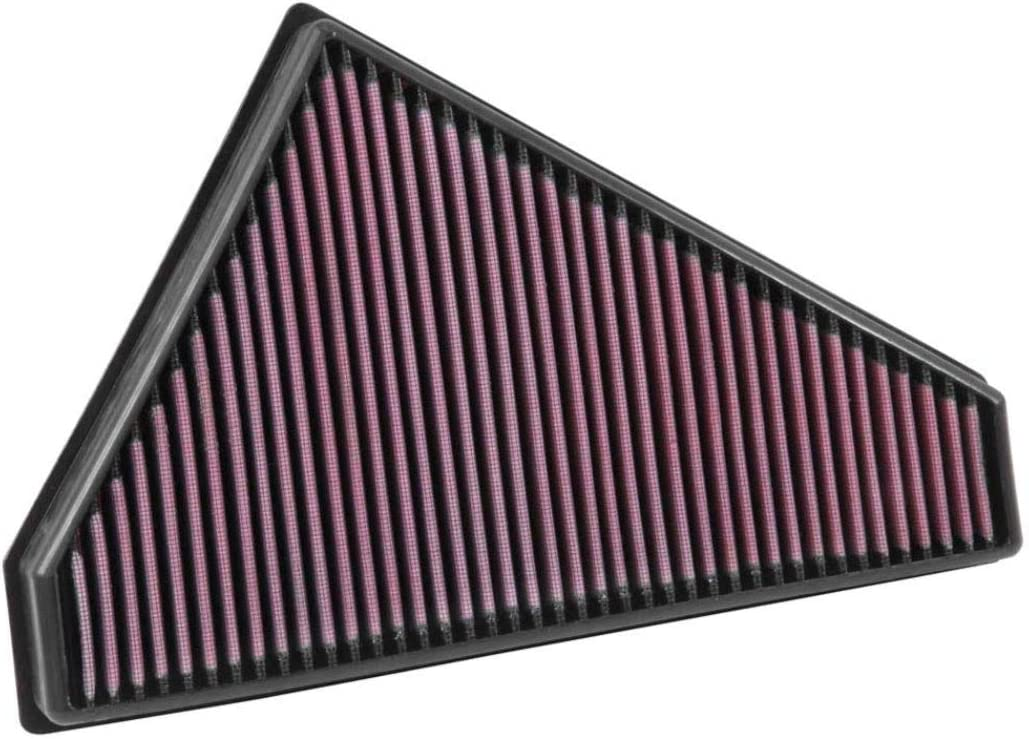 Replacement Filter: 2006-2015 JAGUAR Washable K/&N Engine Air Filter: High Performance Premium XK, XKR, XKR-S 33-2445