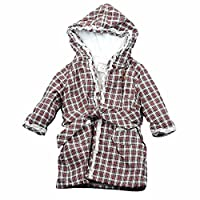 27eca253cb Polo Ralph Lauren Infant Girl s 100% Cotton Tartan Red Multi Bath Robe