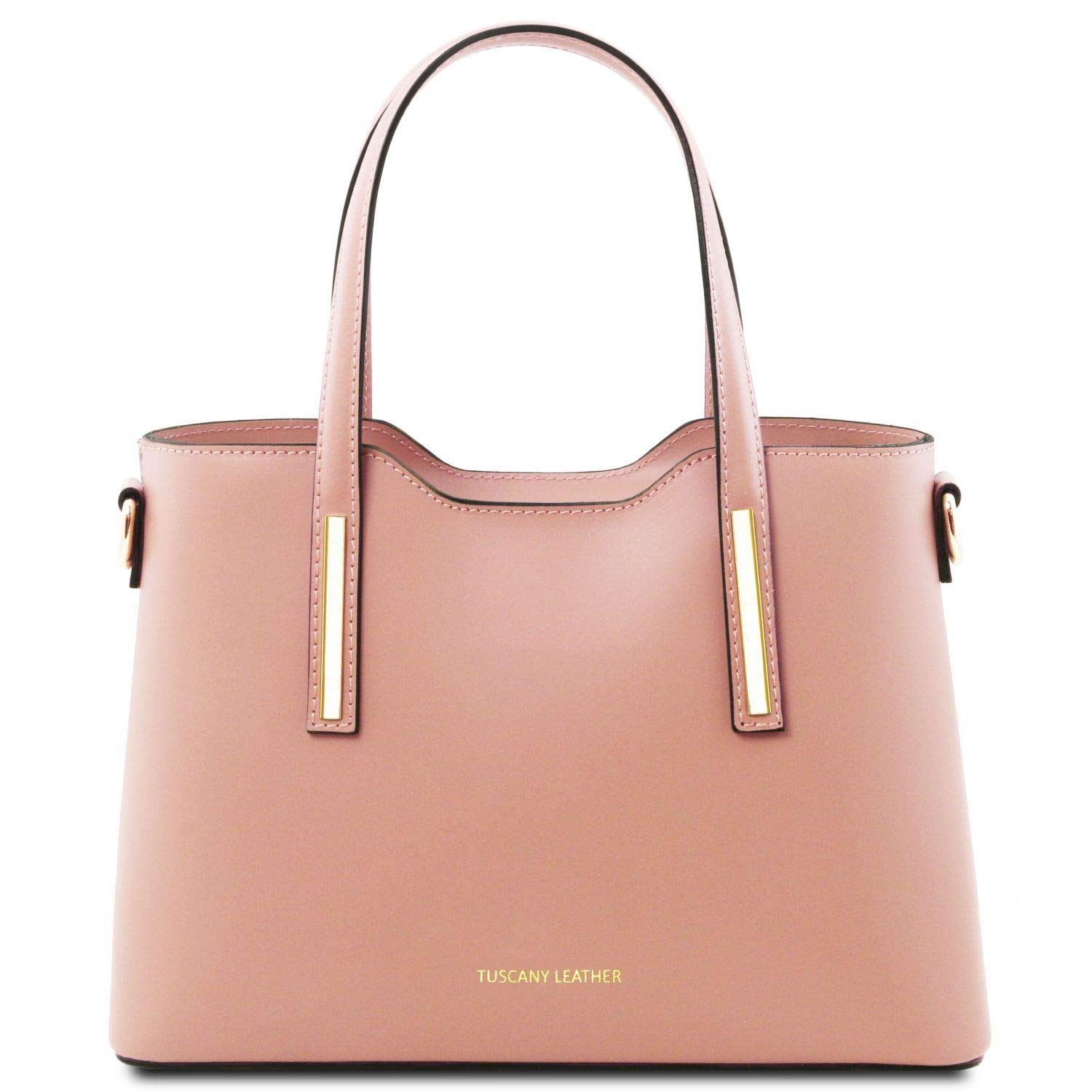 Ballet Pink Tuscany Leather Olimpia  Ruga leather tote  Small size  TL141521