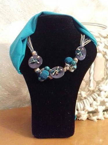bellezza grandi affari sulla moda servizio duraturo collana in corda con bottoni in madreperla: Amazon.it: Handmade