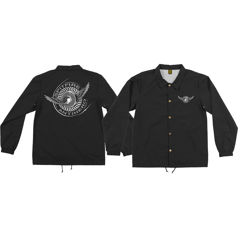 X-Large Spitfire Wheels x Anti Hero Classic Eagle Black Jacket