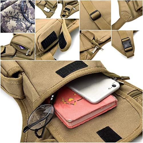 Hiking Outdoors Sport Casual Waist Running Multifunction Coffee Bag Bigood Leg For Pack 4xR7HAy