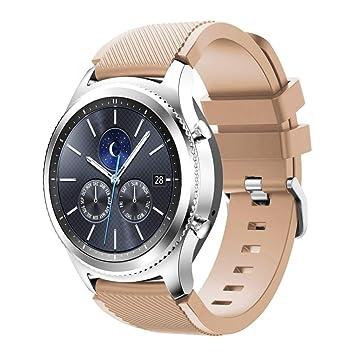 Gear S3 Classic Watch Correa, Venter® Suave reemplazo de ...