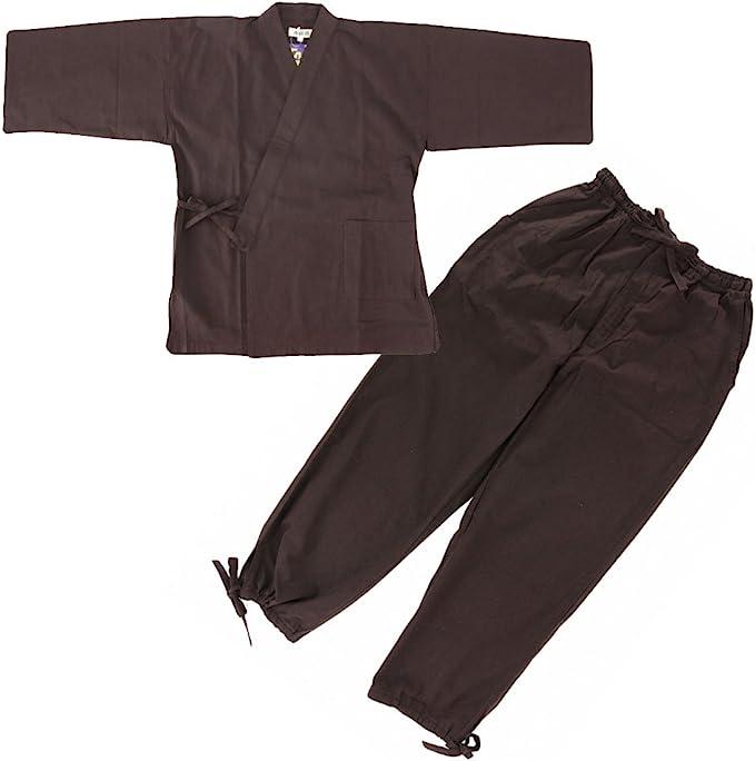 Amazon.com: Edoten Japan Kimono Ninjya Soft Samue: Clothing