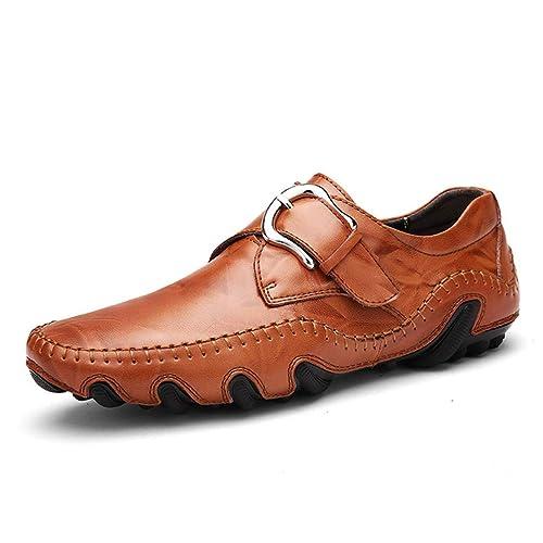 Mocasines para Hombre Zapatos De Vestir para Hombres Zapatos Ligeros Y Transpirables Planos para Hombres Mocasines Suaves Hombre Zapatos para Correr para ...