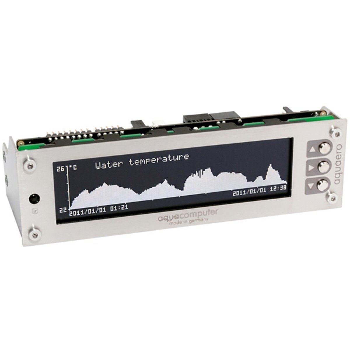 Aquacomputer Aquaero 6 PRO USB Fan Controller with Graphic LCD