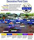 KoiWorx Muck Reducer, 145 tablets, Dry Beneficial Bacteria, Reduces Muck, Sludge, Organic build up, 100% natural bacteria, Safe for koi