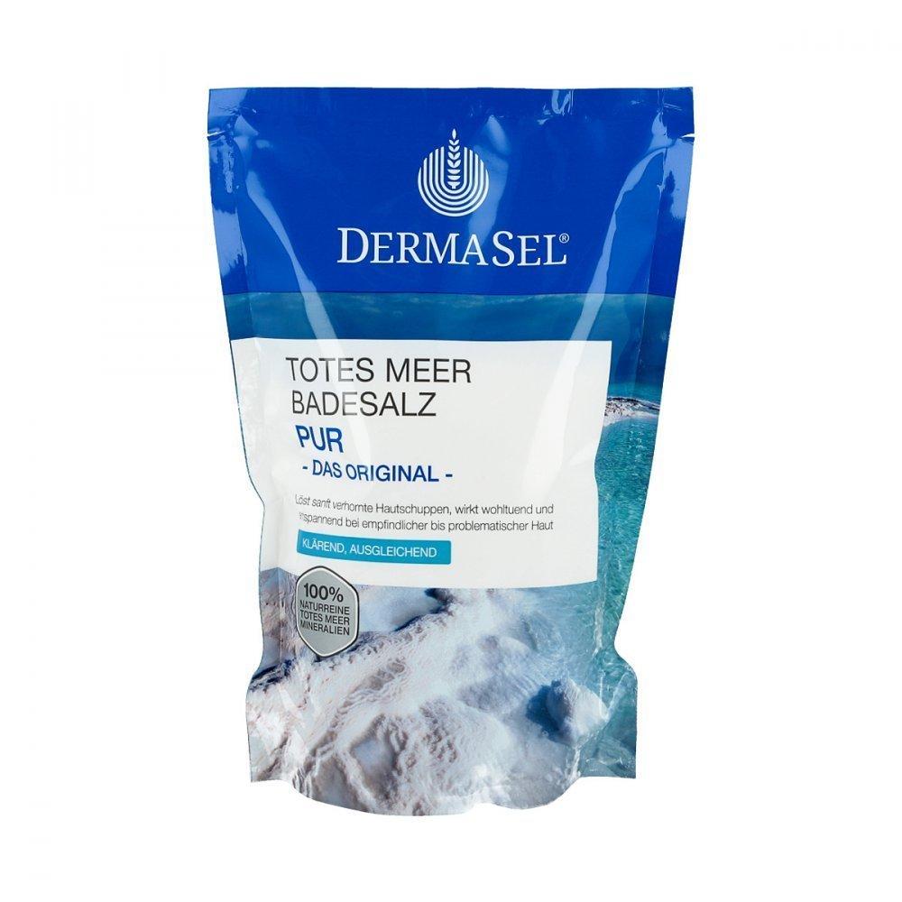 Dermasel Mar Morto Sali da bagno Pur 500 g FETTE Pharma 910600